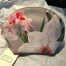 NEW TED BAKER LONDON CHATSWORTH BLOOM DOME MARGITA POUCH COSMETIC MAKEUP BAG