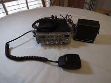 Uniden PC76XLW CB Radio mobile mounting radio shack 21-549B speaker set USED