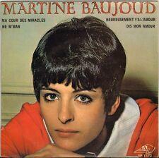 """MARTINE BAUJOUD """"MA COUR DES MIRACLES"""" 60'S EP  AZ 1173"""