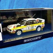 MINICHAMPS Rallye-Modellautos von Audi im Maßstab 1:43