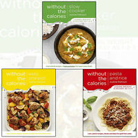 Justine Pattison Without the Calories 3 Books Collection Set (Slow Cooker) New