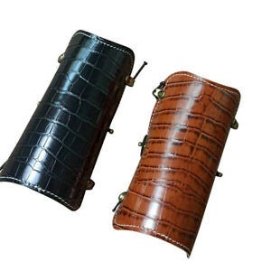 Archery Arm Guard Protector Gear Bracer Traditional Longbow Recurve Bow Shooting