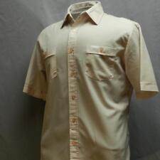 Vintage Sutton Place Button-front Short Sleeve Shirt M 60's 70's