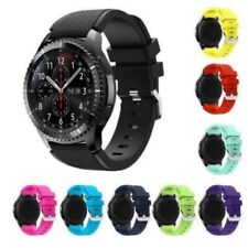 Uk Silicone Bracelet Watch Strap For Samsung Gear S3 Frontier Classic Band