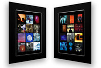 2 MOUNTED / FRAMED PRINTS OF PORCUPINE TREE DISCOGRAPHY ART POSTER ARTWORK GIFT