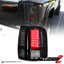 {Phantom Smoke} 07-13 Chevy Silverado LED Tail Light Brake Signal Lamp L+R Pair