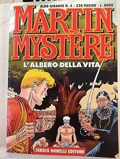 ALBO GIGANTE MARTIN MYSTER N.5 L'ALBERO DELLA VITA - BONELLI - IN OTTIME CONDIZI