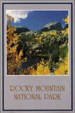 (rhb) Rocky Mountain National Park: Bear Lake and Halle