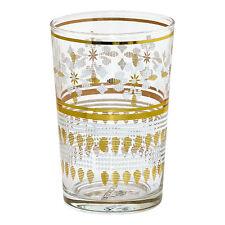 GreenGate DK Set of 2 Tea Glasses in Lamia Gold