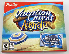 PopCap Vacation Quest AUSTRALIA PC/MAC Software Games~Seek and Find Adventure