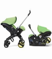 2016 Doona Infant Car Seat - Stroller With Infant Car Seat Base Green-Fresh