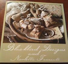 MY HEART IS TRUE BLACKBIRD DESIGNS NICOLETTA FARRAUTO CROSS STITCH BOOK