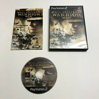 Full Spectrum Warrior (Sony PlayStation 2, 2005) PS2 Complete Tested CIB