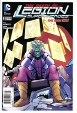 Legion of Super-Heroes New 52 23 2013 DC 1:100 NEWSSTAND UPC VARIANT