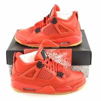 Nike Air Jordan 4 Retro NRG Women's Size 7.5 Fire Red Black Singles AV3914 600