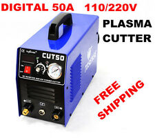 Inverter dc plasma cutter CUT50 cutting machine 110/220V with consumable