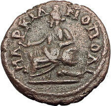 SEPTIMIUS SEVERUS 193AD Marcianopolis Authentic Ancient Roman Coin CYBELE i65002