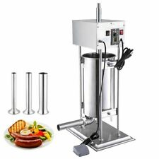 15l Electric Sausage Stuffer Vertical Stainless Steel Meat Filler Grinders