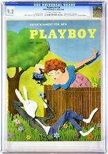 PLAYBOY | 1954-05 9.2 | May 1954 | CGC 9.2 Near Mint - | Joanne Arnold