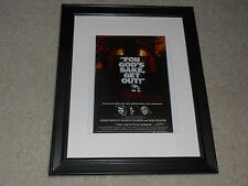 "Framed The Amityville Horror 1979 Mini Poster, Cult Favorite USA Release 14""x17"""