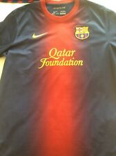 2012-2013 Barcelona football soccer jersey/shirt Large New no tags