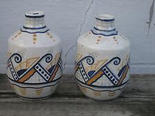 Orchies paire de vase en céramique