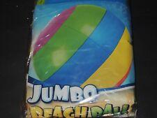 Großer bunter Wasserball JUMBO BEACH BALL inflatable Beach Ball 48 Inch / 122cm