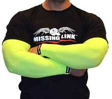 Missing Link Spf 50 Armpro Compression Sleeves Neon Green Turn Signals Apts