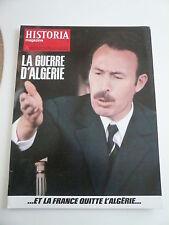 HISTORIA mag LA GUERRE D'ALGERIE n° 371 TALLANDIER. LE PRIX D'UNE GUERRE