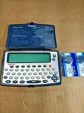 Franklin Merriam-Webster's Dictionary & Thesaurus w/ Good Batteries