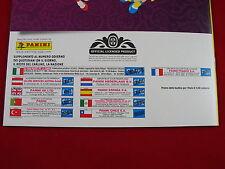 PANINI EURO 2012 album vuoto Edition internazionale = em 12 album International