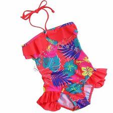 Kids Baby Girls Swimsuit Swimwear Bikini Bathing Suit Swimming Costume Beachwear