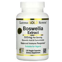 Boswellia Extract, Plus Turmeric Extract, 250 mg, 120 Veggie Capsules
