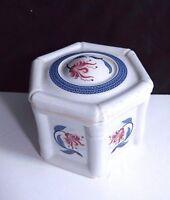 Vintage Royal Pavilion Brighton Elizabeth Arden Trinket Jewelry Porcelain Box