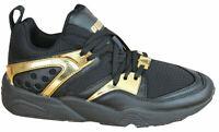 Puma Trinomic Blaze Of Glory Metallic Mens Trainers Lace Up Shoes 361851 02 P1