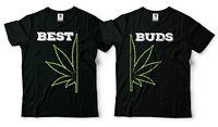 Marijuana T-Shirt Funny Cannabis Weed Couple Matching T shirts Weed Fashion Tees