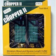 NWSL 69-4 The Chopper II Miniature Wood & Styrene Length Cutter Tool 69-4
