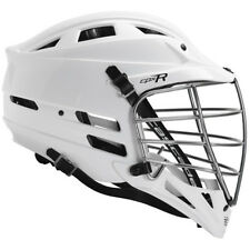 New Cascade CPX-R Lacrosse Helmet - White with Chrome Mask