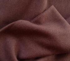 Vintage Shetland nattée Tweed 100% laine marron moka par le mètre