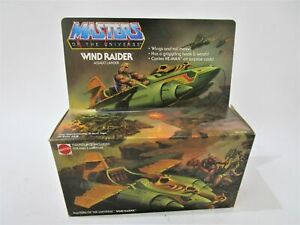 NEW-VERY RARE - Masters of the Universe -Wind Raider Assault Lander - BNIB! 1982