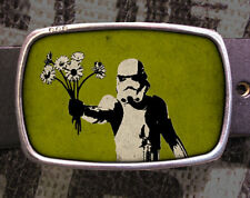 Star Wars Storm Trooper Vintage Inspired Art Geekery Gift Belt Buckle