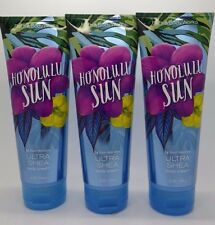 Bath & Body Works Honolulu Sun Body Cream Full Size S/3 8oz #60