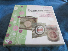 "JustRite Harmony Christmas Stamp Ensemble, 3 1/4"" Classic Circle,  Brand New"