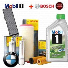 KIT TAGLIANDO OLIO + 4 FILTRI BOSCH BMW 1 (E81) 123 d KW 150 CV 204