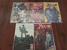 X-Club #1-5 Complete Set (2012) Marvel Comics