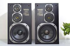TECHNICS SB-F950 BOOKSHELF SPEAKERS WITH MANUAL. SUPERB SOUND.