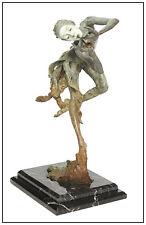Richard MacDonald The Trumpeter 1/4 Life Bronze Sculpture Signed Music Ballet