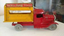 Vintage 1930's MetalCraft Coca-Cola Delivery Toy truck Neat!