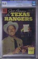 Jace Pearson of the Texas Rangers F.C. # 648 Dell 1955