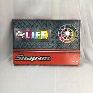 Brand New 2019 Snap On Tools The Game Of LIFE Board Game Hasbro Promotion